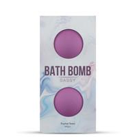 Izgatók, vágykeltők / Pheromon, parfüm, vágykeltő / DONA Sassy Tropical Tease - fürdőbomba - lila (2 db) - 140g