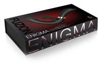 Vibrátor, dildó, műpénisz / Vagina és klitorisz vibrátor / Fuzion Enigma - akkus, vízálló csiklókaros G-pont vibrátor (fekete)