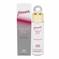Izgatók, vágykeltők / Pheromon, parfüm, vágykeltő / HOT Natural - feromon spray nőknek (45 ml)