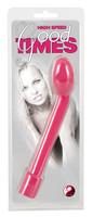 Vibrátor, dildó, műpénisz / G-pont vibrátor / Good Times - 10 ritmusú G-pont vibrátor (pink)